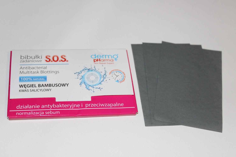 Bibułki matujące Dermo pHarma S.O.S.