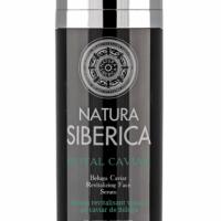 NATURA SIBERICA ROYAL CAVIAR Serum do twarzy rewitalizujące Czarny Kawior, 30 ml