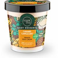 ORGANIC SHOP Body Desserts Krem do ciała ujędrniający Cappuccino Karmelowe, 450ml