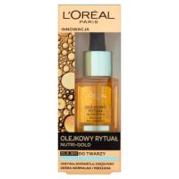 L'Oréal Paris Nutri-Gold Olejkowy Rytuał Olejek do twarzy skóra normalna i mieszana 30 ml
