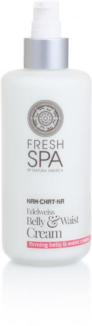 Fresh Spa Kam-Chat-Ka Szarotka krem ujędrniający do brzucha i talii 200 ml