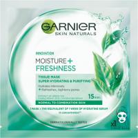Garnier Skin Naturals Moisture + Freshness maska kompres 32g
