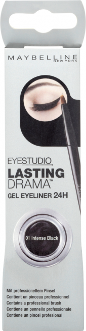 Maybelline New York Lasting Drama Gel 01 intense black