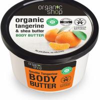 Organic Shop Masło do ciała Gorzka Mandarynka, 250 ml