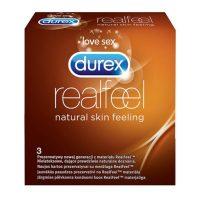 RealFeel 3szt. Prezerwatywy DUREX