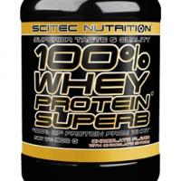 SCITEC NUTRITION 100% Whey Protein Superb 900g vanilla