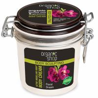 Organic Shop Aktywnie Modelujący krem do ciała na noc Kwiatowy Sen,350 ml