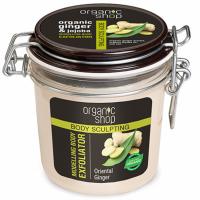 Organic Shop Modelujący peeling do ciała Orientalny Imbir,350 ml