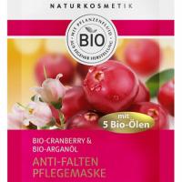 LAVERA Maska regenerująca bio-żurawina, bio-olej arganowy, bio-oliwa z oliwek 10 ml
