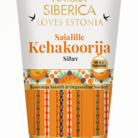 NATURA SIBERICA LOVES ESTONIA Calendula Nagietkowy Scrub do ciała wygładzający 200 ml