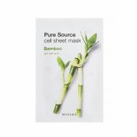 MISSHA Pure Source Cell Sheet Mask (Bamboo) Maseczka 21 g