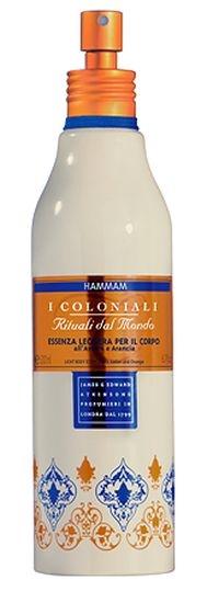 I Coloniali Hammam Odżywcza esencja do ciała z ekstraktem z bursztynu i pomarańczy 200ml