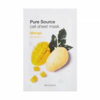 MISSHA Pure Source Cell Sheet Mask (Mango) Maseczka 21 g