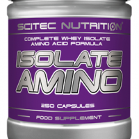 SCITEC Isolate Amino 250 kaps