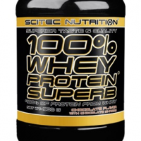SCITEC NUTRITION 100% Whey Protein Superb 900g strawberry