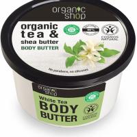 Organic Shop Masło do ciała Biała Herbata, 250 ml