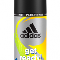 Adidas Cool & Dry Get Ready!  Men 150 ml dezodorant spray