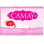 CAMAY Bar Soap mydło w kostce Creme & Strawberry 85g