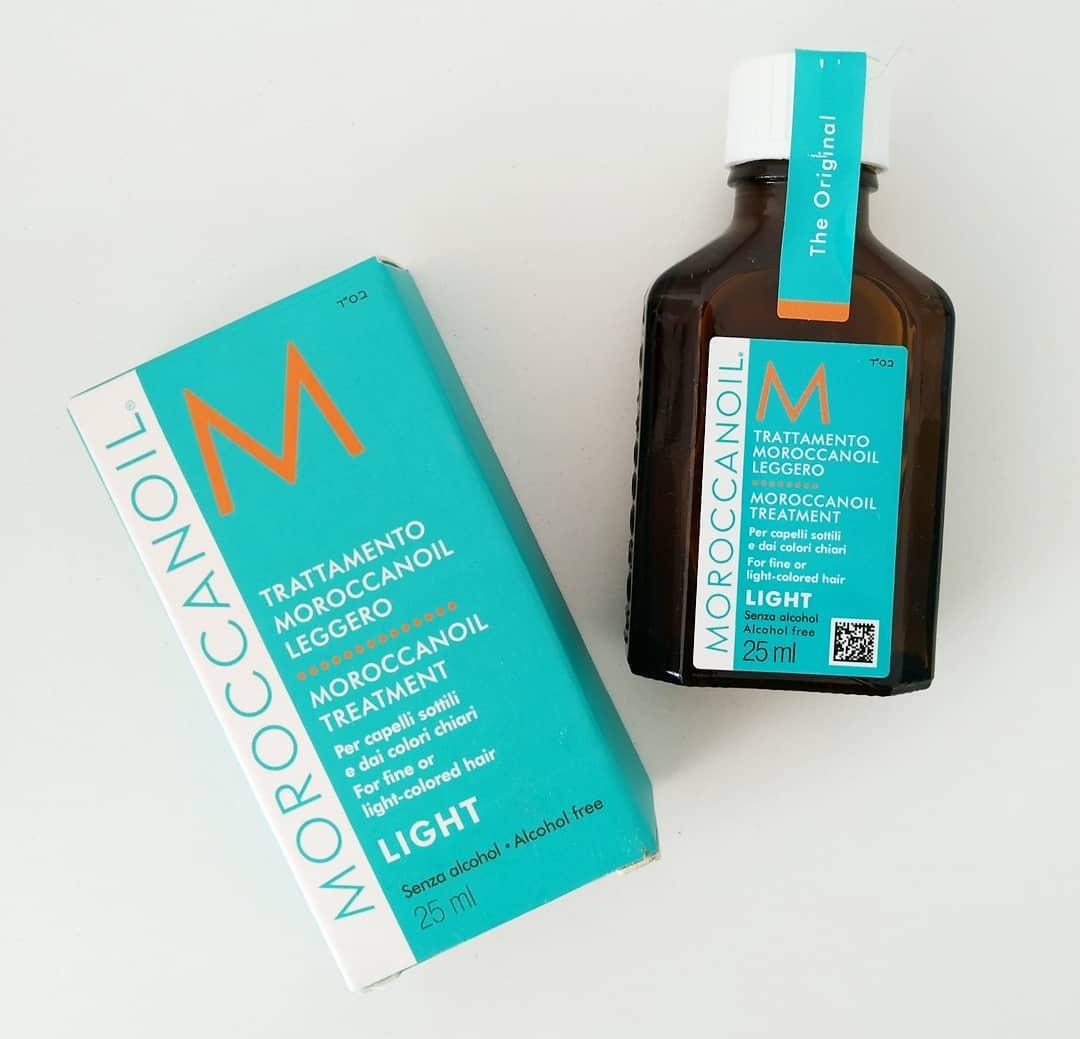 Pielęgnacja włosów zmarką Moroccanoil